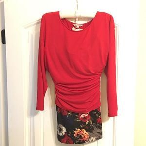 Nanette Red Top